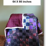 Maroon Backed Quilt