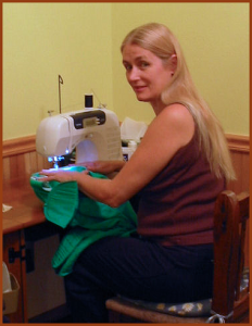 Mary Maurer, Seamstress in Fayetteville Arkansas