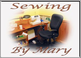 Welcome to Mary's Sew & So!