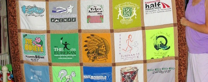 T-shirt Quilts – A Perfect Gift for Sports Moms